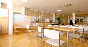 大館市立病院内 レストラン食堂スペース